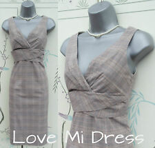 OASIS - 40's/50's Style Pencil Wiggle Secretary Dress 8 EU36