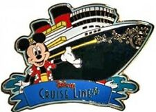 Disney Pin: DCL Disney Cruise Line - Mickey Mouse and Ship