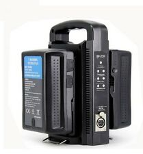 BP-2CH Universal 14.4V 14.8V V mount Dual Battery Charger Quick For Sony ROLUX