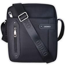 Herren Umhängetasche Messenger Bag iPad Tablet Tasche Schwarz 1B Ware NEU