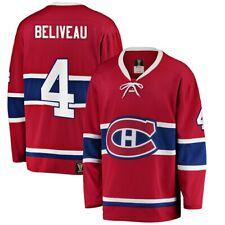 Мужские Монреаль Канадиенс Жан Беливо премьер трогания наследия красный НХЛ Джерси