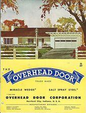 MRO Brochure - Overhead Door - Fire Hangar Gas Station Industrial 1951 (MR100)