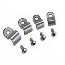 stainless steel 3/16 brake line clamps