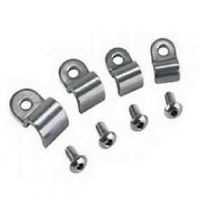 stainless steel 3/16 fuel line clamps