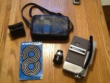 NIKKOREX-8 Complete 8mm Film Camera & Kit Original 60's Plus Zoom Lens (pics)