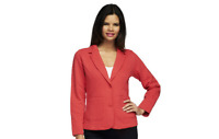 Isaac Mizrahi Live! Quilted Knit Blazer PICK SIZE & COLOR new