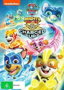 Paw Patrol Mighty Pups - Charged Up (DVD), NEW SEALED REGION 4 lot 242