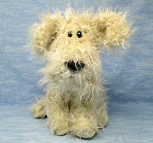 Russ Curly Plush Dog Caress Soft Pets with original tags vintage stuffed animal