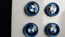 4 X Original Neu BMW i3 i8 Radnabendeckel Radkappen 55mm Emblem 6852052