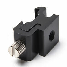 New Adjustable Cold Hot Shoe To 1/4 Thread Screw Flash Bracket Mount Adapter Hot