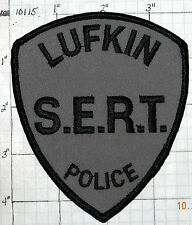TEXAS, LUFKIN POLICE S.E.R.T. SUBDUED PATCH