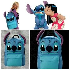Disney Lilo and 'I Am Stitch' RETIRED Backpack LoungeFly w/Front Pocket-NEW!