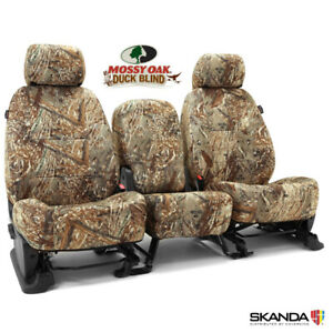 NEW Custom-Fit Neosupreme Camo Seat Covers Mossy Oak Duck Blind Solid USA-MADE