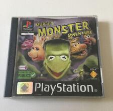 Muppet Monster Adventure Sony Playstation PS1 Version FR - #RETRO-GAMING#