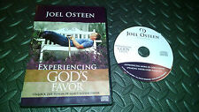 JOEL OSTEEN: EXPERIENCING GOD'S FAVOR DVD (GOOD CONDITION) MOVIE