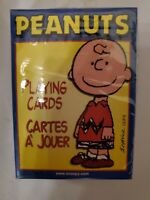 "Hoyle Peanuts ""Charlie Brown"" Playing Cards – Sealed in plastic"