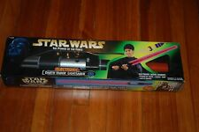 Darth Vader Lightsaber Electronic-Star Wars Power of the Force Green