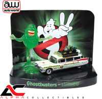 JOHNNY LIGHTNING JLSP078 1:64 GHOSTBUSTERS 1959 CADILLAC ECTO-1A SLIMER