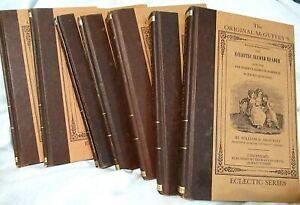 McGuffey's Eclectic Primer Reader 1982 Set 7 Hardcover Books Mott  + paperback