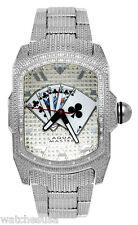 Aqua Master Men's Silver Dial Stainless Steel 024ct. Diamonds Watch W#63