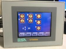 Esa Vt565W Touch Screen, Operator Panel & Dupline Text Display Interface Gti50