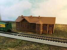 Country Historic TRAIN STATION - N Scale 1:160 No Assembly! Made in USA 3D Model