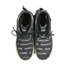 "10 VISVIM X COMME DES GARCON FBT LHAMO ""MARKETING MACHINE"" WHITE BLACK CDG"