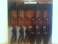 LOU    RAWLS       LP       NATURAL    MAN