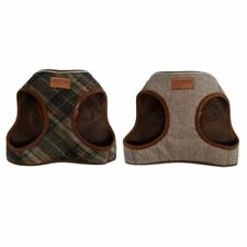 More details for ancol step in dog harness heritage puppy country check herringbone anti-pulling
