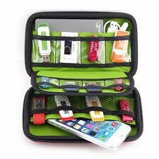 USB Flash Drive Case Carrying Thumb Holder Travel Organizer Storage Zipper Bag