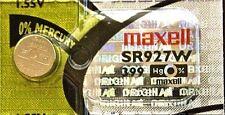 399 MAXELL WATCH BATTERIES SR927W SR57 D399 V399 SR927 New Authorized Seller