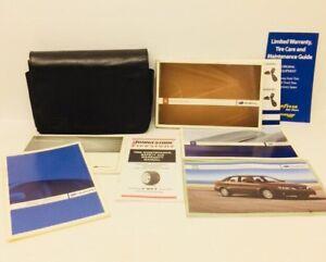 2008 Subaru Impreza Owners Manual Case Warranty Service Literature Book Case