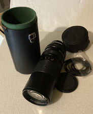 RMC Tokina Japan 75-260mm 1: 4.5 Camera Lens  w Case And Lens Cap With Strap