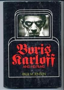 Boris Karloff and His Films      Paul M Jensen     Hardcover     1974