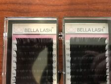 BELLA LASH Premium Synthetic Mink 13mm - 15mm Extensions D  [2 TRAYS]