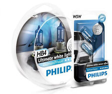 (+ W5W Parkers!) PHILIPS HB4 Diamond Vision 5000K Bulbs HB4 9006 - OZ Seller