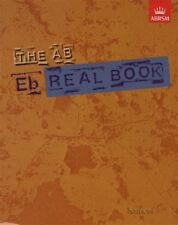 The AB Real Book Eb E flat Edition ABRSM Jazz Sheet Music Book Lead Sheets