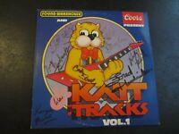 THE KATT TRACKS VOL 1 Vinyl Record LP Oklahoma City Radio Autographed Coors OKC