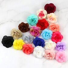 Small Rose 10/30 Pcs Bulk Artificial Silk Flower Heads Simulation Fake Floral