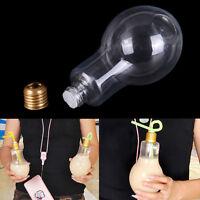 fashion gift children Light bulb bottle Plastic bottle shaped Drink Cup J&C