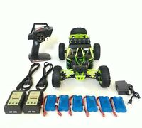 WLtoys 12428, 2.4GHz, 4WD, 6batteries, 3chargers. USAdealer.