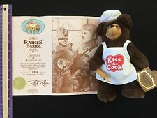 "Raikes Bears Baker Brent ""kiss The Cook"" Vintage Collectors Doll 1418/5000"