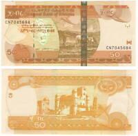 ETHIOPIA 50 BIRR 2015 P-51g UNC - Banknotes Paper Money