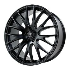 18x8 Verde Saga 5x108 +38 Black Rims Wheels Brand New (Set)