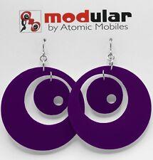 Groovy - Atomic Earrings - Midcentury Modern Retro Handmade Jewelry