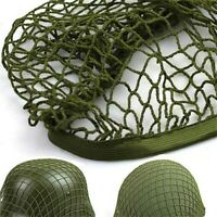 WW2 Paratrooper Solider Helmets Net Cover Green for M1 M35 MK2 Military Retro