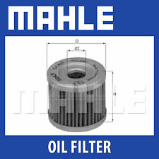 Mahle Oil Filter OX406 - Fits Suzuki Motorcycles - Genuine Part