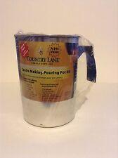 NIP Sealed Country Lane Candle Making Reusable Candle Making Pouring Pot Kit