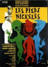 affiche du film PIEDS NICKELES (LES) 120x160 cm