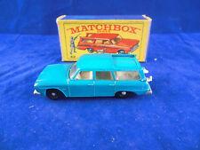 Matchbox Series No 42 b Studebaker Station Wagon Dark Blue Slide Early Box